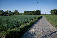 Lennikseweg along the Breugel Route in Lennik<br /> <br /> Cycling in Flanders (BEL)<br /> cycling hotspots in Brabant<br /> <br /> ©kramon