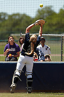 SAN ANTONIO, TX - APRIL 24, 2010: The Texas State University Bobcats vs. the University of Texas at San Antonio Roadrunners Softball at Roadrunner Field. (Photo by Jeff Huehn)