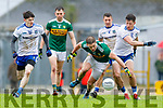 Stephen O'Brien  Kerry in action against Dessie Ward. Monaghan during the Allianz Football League Division 1 Round 5 match between Kerry and Monaghan at Fitzgerald Stadium in Killarney, on Sunday.