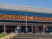 Grand Casino Beograd, Bulevar Nikole Tesle, Belgrad, Serbien, Europa<br /> Grand Casino Beograd; Serbia; Europe