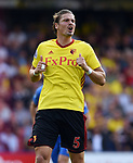Sebastian Prodl of Watford during the premier league match at the Vicarage Road Stadium, Watford. Picture date 26th August 2017. Picture credit should read: Robin Parker/Sportimage