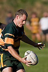 "Pukekohe fullback Rob Dennison. CMRFU Counties Power ""Game of the Week' between Bombay & Pukekohe played at Bombay on Saturday 17th May 2008..Pukekohe led 15 - 0 at halftime & went on to win 42 - 5."