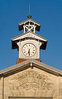 Europe/France/Aquitaine/33/Gironde/Saint-Yzans-de-Médoc: Château Charteuse portail du  Cuvier du Château Charteuse 17° siècle