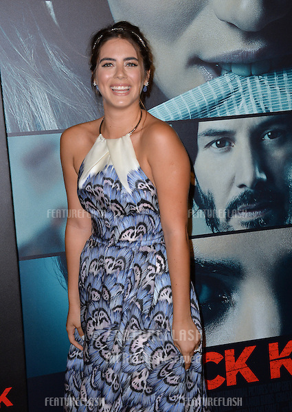 Actress Lorenza Izzo at the Los Angeles premiere of her movie &quot;Knock Knock&quot; at the TCL Chinese Theatre, Hollywood.<br /> October 7, 2015  Los Angeles, CA<br /> Picture: Paul Smith / Featureflash