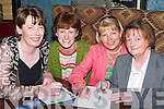 TABLE QUIZ: Writing the answers down at the Kerry General Hospital Table Quiz to raise funds for the Acute Psychiatric Unit at KGH on Friday night, l-r: Joan Harmon, Joan Murphy, Mary Golden and Mary Myers..