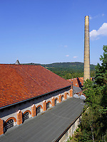 Museumshaus Kraftzentrale, Rammelsberg, Museum und Besucherbergwerk, Goslar, Niedersachsen, Deutschland, Europa, UNESCO-Weltkulturerbe<br /> power house, Rammelsberg - Museum and show mine, Goslar, Lower Saxony,, Germany, Europe, UNESCO Heritage Site