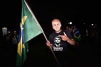PIRACICABA,SP, 28.10.2018 - ELEIÇÕES-2018 - Apoiadores de Jair Bolsonaro, PSL, se reunem na estaçao da Paulista em Piracicaba, interior de São Paulo, para comemorar a vitória na eleição. (Foto: Mauricio Bento/Brazil Photo Press)