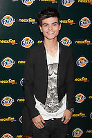 Abraham Mateo poses during Neox Fan Awards ceremony photocall in Madrid, Spain. October 08, 2014. (ALTERPHOTOS/Victor Blanco)