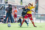 Tyres&ouml; 2014-05-25 Fotboll Damallsvenskan Tyres&ouml; FF - FC Roseng&aring;rd :  <br /> Roseng&aring;rds Elin Rubensson tacklas av Tyres&ouml;s Lisa Dahlkvist <br /> (Foto: Kenta J&ouml;nsson) Nyckelord:  Damallsvenskan Tyres&ouml;vallen Tyres&ouml; TFF FC Roseng&aring;rd FCR Malm&ouml;