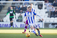 Ben Stevenson of Colchester United brings the ball forward during Colchester United vs Carlisle United, Sky Bet EFL League 2 Football at the JobServe Community Stadium on 23rd February 2019