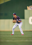 22 July 2016: Washington Nationals infielder Trea Turner in action against the San Diego Padres at Nationals Park in Washington, DC. The Padres defeated the Nationals 5-3 to take the first game of their 3-game, weekend series. Mandatory Credit: Ed Wolfstein Photo *** RAW (NEF) Image File Available ***