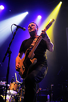 LONDON, ENGLAND - APRIL 15: Chris Pope of 'The Chords' performing at Shepherd's Bush Empire on April 15, 2017 in London, England.<br /> CAP/MAR<br /> &copy;MAR/Capital Pictures