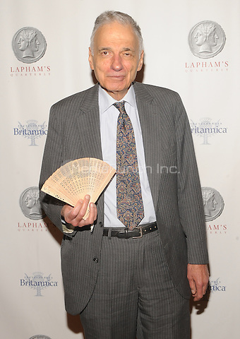 New York,NY-JUNE 02: Ralph Nader attends Lapham's Quarterly Decades Ball: The 1870s at Gotham Hall In New York City on June 2, 2014. Credit: John Palmer/MediaPunch