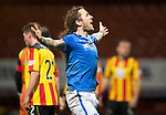 Partick Thistle v St Johnstone....21.01.14   SPFL<br /> Stevie May celebrates his goal<br /> Picture by Graeme Hart.<br /> Copyright Perthshire Picture Agency<br /> Tel: 01738 623350  Mobile: 07990 594431