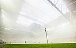 Solna 2015-08-10 Fotboll Allsvenskan AIK - Djurg&aring;rdens IF :  <br /> R&ouml;k fr&aring;n bengaler i Friends Arena inf&ouml;r matchen mellan AIK och Djurg&aring;rdens IF <br /> (Foto: Kenta J&ouml;nsson) Nyckelord:  AIK Gnaget Friends Arena Allsvenskan Djurg&aring;rden DIF supporter fans publik supporters inomhus interi&ouml;r interior bengal bengaler