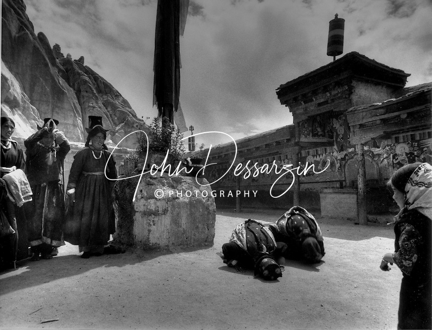 Taktak Monastery Leh Jammu Kashmir India