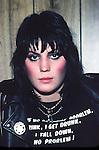 Joan Jett 1981.© Chris Walter.