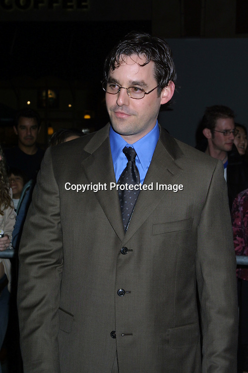 2003 KATHY HUTCHINS / HUTCHINS PHOTO.Warner Brother TV Winter Television Critics Association.PARTY.JANAUARY 11, 2003.HOLLYWOOD, CA..NICHOLAS BRENDON