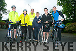 Enjoying the Fenit Lifeboat charity fun cycle on Saturday were Cahal Dunton, Michael Hillard, Kevin Deedy, John Jay Moriarty and Cian O'Donnell, Lea Sugrue