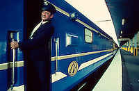 The Blue Train is ready to leave Pretoria.