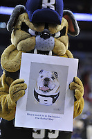The Bulldog's mascot shows his team spirit. Butler upset no.1 seed Pittsburgh 71-70 during the 3rd round of the NCAA Tournament at the Verizon Center in Washington, D.C on Saturday, March 19, 2011. Alan P. Santos/DC Sports Box