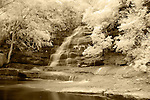 Infrared Image of Somersby Falls