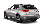 Car pictures of rear three quarter view of a 2018 Maserati Levante Base 5 Door SUV angular rear