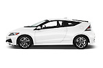 Car Driver side profile view of a 2016 Honda CRZ EX 3 Door Hatchback Side View