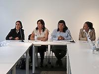 Querétaro, Qro. 7 de octubre 2015. La diputada Atalí Rangel ofreció hoy una rueda de prensa con la alcaldesas de Jalpan de Serra y Landa de Matamoros, así como con la regidora de Turismo de San Joaquín. Foto: Alejandra L. Beltrán / Obture Press Agency.