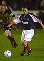10/10/2002                   Copyright Pic : James Stewart.File Name : stewart-crunchie 07.CRUNCHIE IN ACTION DURING HIS TESTIMONIAL....Payments to :-.James Stewart Photo Agency, 19 Carronlea Drive, Falkirk. FK2 8DN      Vat Reg No. 607 6932 25.Office     : +44 (0)1324 570906     .Mobile  : +44 (0)7721 416997.Fax         :  +44 (0)1324 570906.E-mail  :  jim@jspa.co.uk.If you require further information then contact Jim Stewart on any of the numbers above.........