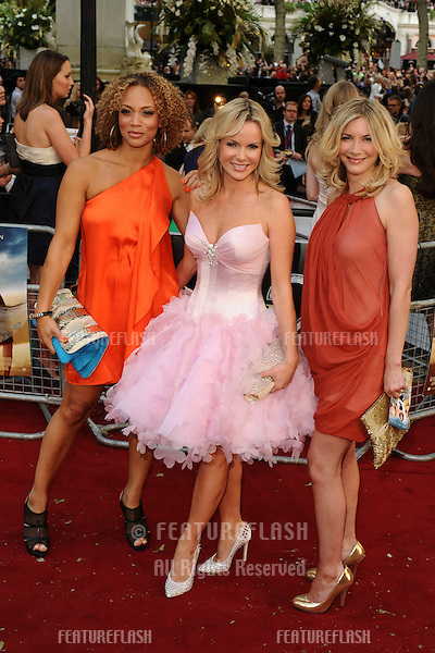 "Actresses, Angela Griffin, Amanda Holden and Lisa Faulkner.arrives for the ""Sex and the City 2"" premiere at the Odeon Leicester Square, London. 27/05/2010  Picture by Steve Vas/Featureflash"