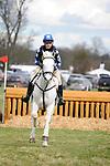 31st March 2017, Chloe Rodriguez riding RATHMOYLE KING during the 2017  Belton International Horse Trials, Belton House, Grantham, United Kingdom. Jonathan Clarke/JPC Images