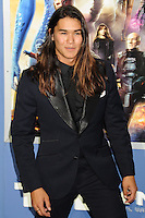 "NEW YORK CITY, NY, USA - MAY 10: Booboo Stewart at the World Premiere Of Twentieth Century Fox's ""X-Men: Days Of Future Past"" held at the Jacob Javits Center on May 10, 2014 in New York City, New York, United States. (Photo by Celebrity Monitor)"