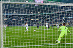 04.11.2018, Stadion im Borussia-Park, Moenchengladbach, GER, 1. FBL, Borussia Moenchengladbach vs. Fortuna Duesseldorf, DFL regulations prohibit any use of photographs as image sequences and/or quasi-video<br /> <br /> im Bild Thorgan Hazard (#10, Borussia M?nchengladbach / Moenchengladbach) macht das Tor zum 1:0<br /> <br /> Foto &copy; nordphoto/Mauelshagen