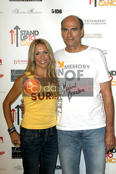 Sheryl Crow and James Taylor<br />at Stand Up To Cancer. Kodak Theater, Hollywood, CA. 09-05-08<br />Dave Edwards/DailyCeleb.com 818-249-4998
