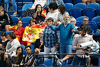 4th January 2020; RAC Arena, Perth, Western Australia; ATP Cup Australia, Perth, Day 2; Spain versus Georgia Spanish supporters in the crowd during the match between Nikoloz Basilashvili of Georgia and Rafael Nadal of Spain - Editorial Use