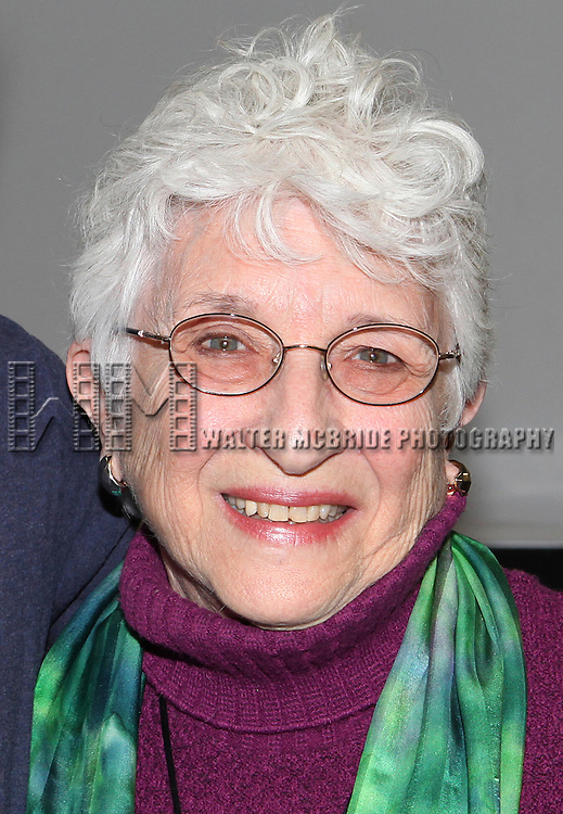 Adena Potok attends the Meet & Greet for the new Off-Broadway Play 'My Name Is Asher Lev'  at the Davenport Studios on 10/22/2012 in New York City.