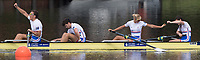 Sarasota. Florida USA.  GBR PR 3 4+ Bow. Grace, CLOUGH, Giedre RAKAUSKAITE,  Oliver<br /> STANHOPE and James FOX and Cox Anna CORDEROY,  Final A. 2017 World Rowing Championships, Nathan Benderson Park<br /> <br /> Saturday  30.09.17   <br /> <br /> [Mandatory Credit. Peter SPURRIER/Intersport Images].<br /> <br /> <br /> NIKON CORPORATION -  NIKON D500  lens  VR 500mm f/4G IF-ED mm. 250 ISO 1/1000/sec. f 5