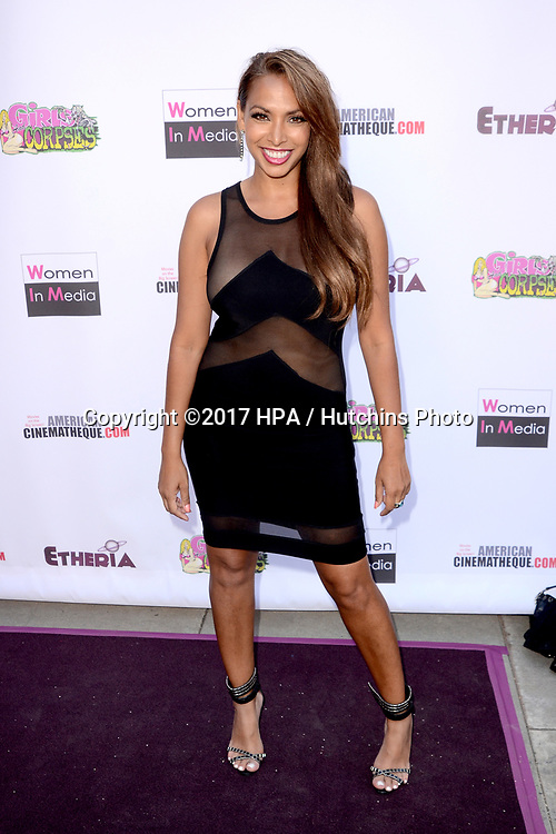 LOS ANGELES - JUN 3:  Nadia Dawn at the Etheria Film Night 2017 at the Egyptian Theater on June 3, 2017 in Los Angeles, CA