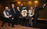 "Gio Messale, Tom Kinney, Hal Berman, Bonnie Comley and Stewart F. Lane attends the BroadwayHD's ""42nd Street"" Screening at the AMC Empire 25 Theatres on April 16, 2019 in New York City."