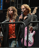 HOLLYWOOD FL - DECEMBER 7 :  Steven Tyler and Richie Supa attend the Bikers Bash at Hard Rock live held at the Seminole Hard Rock hotel & Casino on December 7, 2012 in Hollywood, Florida.  Credit: mpi04/MediaPunch Inc. /NortePhoto /NortePhoto©