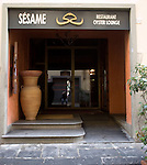 Exterior, Sesame Restaurant, Florence, Tuscany, Italy
