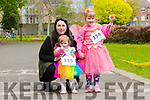 Celene Moloney, Lucy  Quain and Ruby Foley at the Fancy Dress Fun Run on Saturday in the Town Park