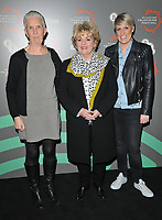 """Ann Cleeves, Brenda Blethyn and Stephanie Rose McGovern at the """"Vera"""" BFI & Radio Times Television Festival screening & Q&A, BFI Southbank, Belvedere Road, London, England, UK, on Saturday 13th April 2019. <br /> CAP/CAN<br /> ©CAN/Capital Pictures"""