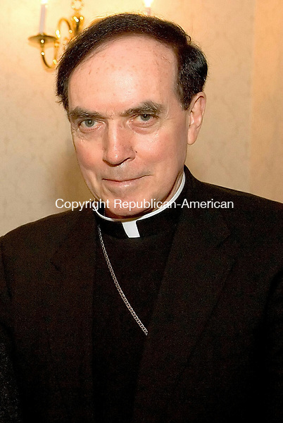 WATERBURY -- Mar. 26, 2014 -- 25_NEW_032614MDP01 -- The Most Reverened Henry J. Mansell, Archbishop Emeritus of Hartford. Republican-American archive.
