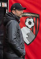 Liverpool manager Jürgen Klopp <br /> <br /> Photographer David Horton/CameraSport<br /> <br /> The Premier League - Bournemouth v Liverpool - Saturday 8th December 2018 - Vitality Stadium - Bournemouth<br /> <br /> World Copyright © 2018 CameraSport. All rights reserved. 43 Linden Ave. Countesthorpe. Leicester. England. LE8 5PG - Tel: +44 (0) 116 277 4147 - admin@camerasport.com - www.camerasport.com