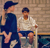 Netherlands, November 1997, NIKE junior tour, Rafael Nadal (ESP)