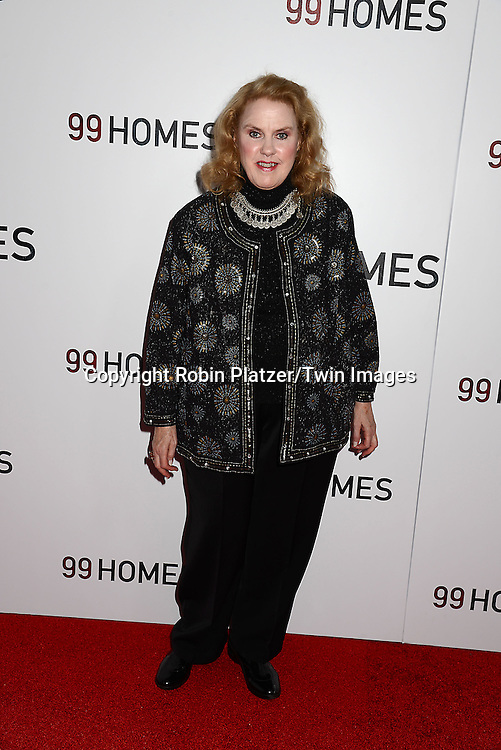 Celia Weston attends the New York Premiere of &quot;99 Homes&quot; on September 17, 2015 at AMC Loews Lincoln Square in New York City, New York, USA.<br /> <br /> photo by Robin Platzer/Twin Images<br />  <br /> phone number 212-935-0770