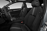 Front seat view of 2017 Honda Civic Executive 5 Door Hatchback Front Seat  car photos