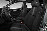 Front seat view of 2017 Honda Civic Executive 5 Door Hatchback Front Seat  car photos